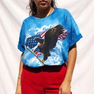 American eagle vintage tie dye tee